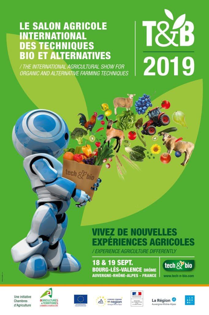 Tech&Bio 2019 : le salon agricole international des techniques bio et alternatives