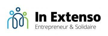 Logo In Extenso entrepreneur et solidaire